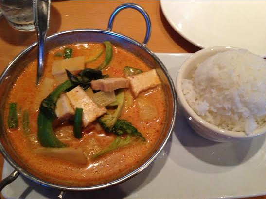 Thai Red Curry With Tofu And Basil Recipes — Dishmaps