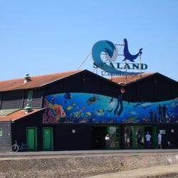 Le bâtiment de l'aquarium
