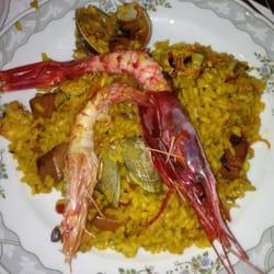 Seafood Paella.....soooo good