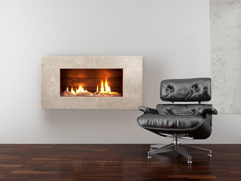 St900 Indoor Gas Cream Travertine Fireplace Yelp