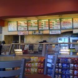 Subway Restaurants Granada Hills Ca