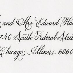 Esther S Calligraphy South Loop Chicago Il United