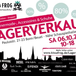 Kiss A Frog Lagerhalle, Bonn, Nordrhein-Westfalen, Germany