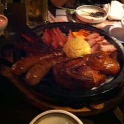Bicycle & Gogi Restaurant - 30 dollar meat platter - Los Angeles, CA, Vereinigte Staaten