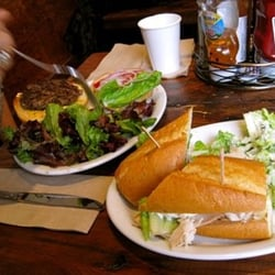 The Creamery - burger needs fries.  :( - San Francisco, CA, Vereinigte Staaten