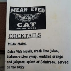 Mean Eyed Cat Yelp