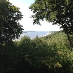 Blick auf die Elbe vom Bismarckstein