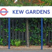 Kew Gardens Station, London