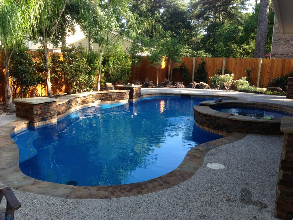 Peak pools and spas 15 photos contractors river oaks for Pool and spa contractors