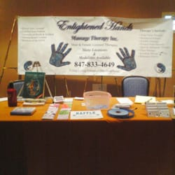 Enlightened Hands Wellness & Massage - Mcdonalds corporate event setup - Hinsdale, IL, Vereinigte Staaten