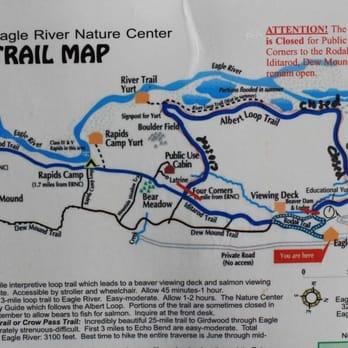 Eagle River Nature Center Hiking Trails