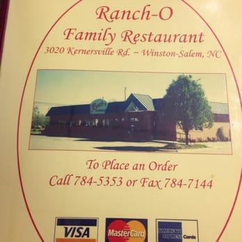 Ranchos Family Restaurant Menu