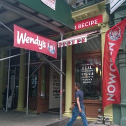 wendy's fast food greenwich village new york, ny