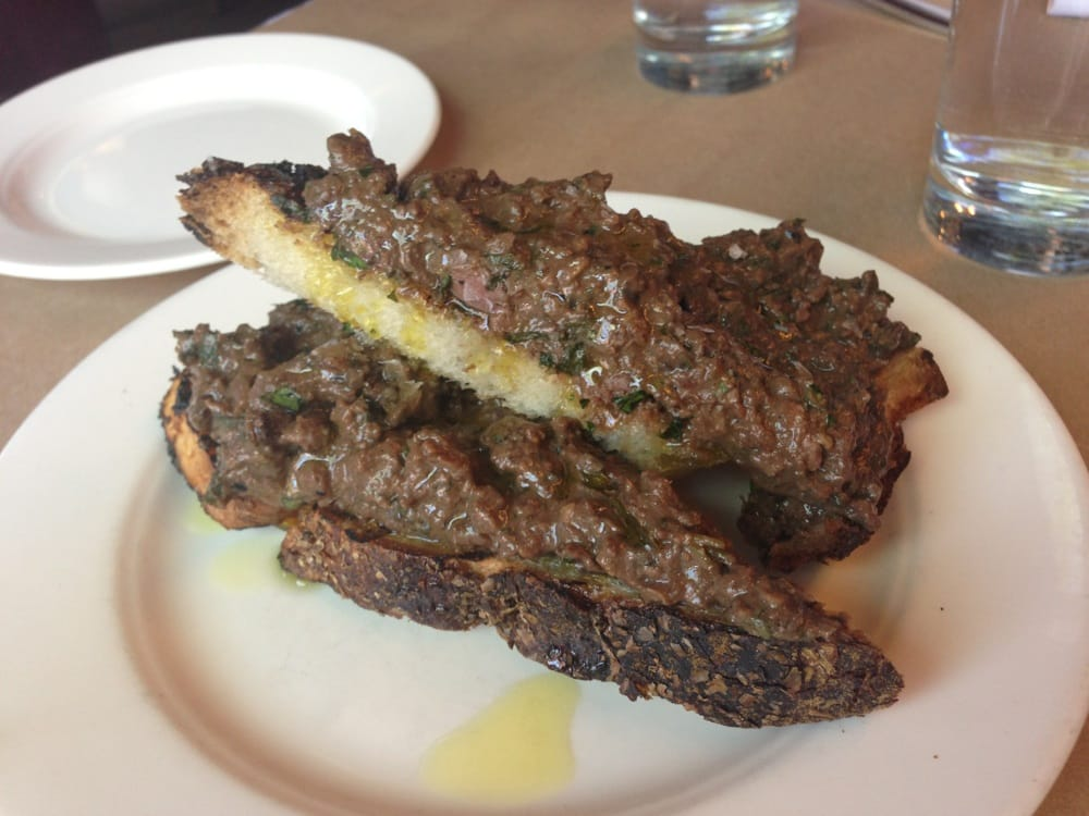 Devilled Chicken Livers The Spotted Pig Chicken Liver Toast New York ny United States
