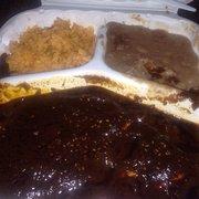 Tacos Por Favor - Chicken mole plate - Los Angeles, CA, Vereinigte Staaten