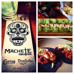 Machete Tequila + Tacos logo