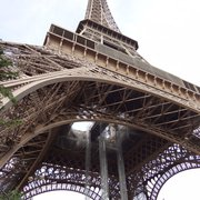 First glimpse of the Eiffel, makes you…