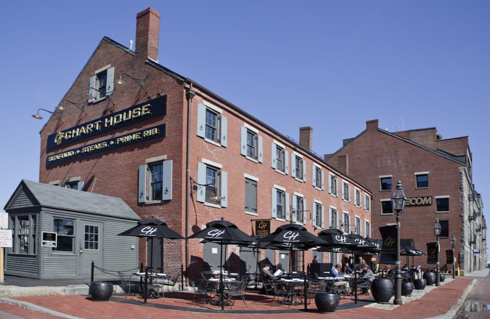 Chart house 165 photos seafood restaurants for Best fish restaurants in boston