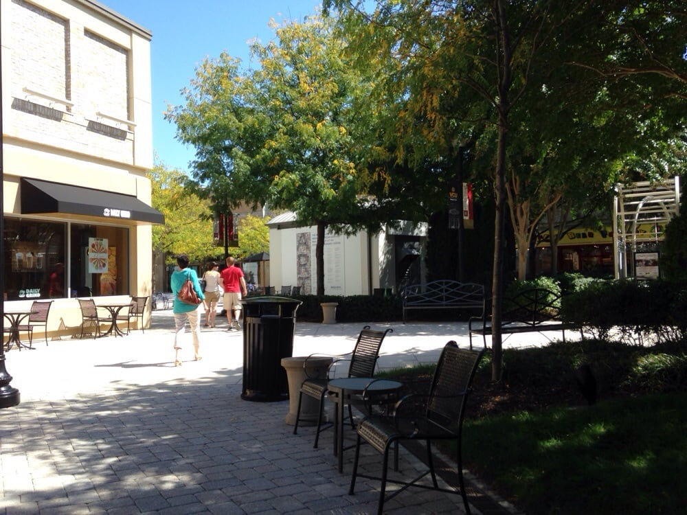 Outdoor mall-bring your dog. Everyone else did. | Yelp
