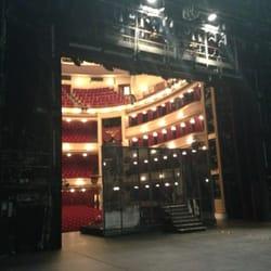 Blick von der Bühne zum Zuschauerbereich