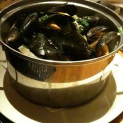 Classic Belgium mussels