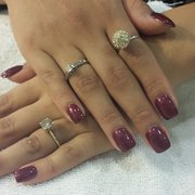 Perfect Salon - $30 fill with gel polish. Fall nail color. - Mountain View, CA, Vereinigte Staaten