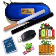 Wisekick e-Cigarette Zip Case Kit (Blue)