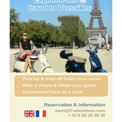 scooter tour paris