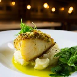 ... Market & Grill - Dallas, TX, United States. Pistachio Crusted Sea Bass