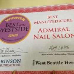 admiral nail salon nail salons admiral seattle wa