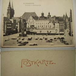 Vorplatz Lorenzkirche, Nürnberg, Bayern