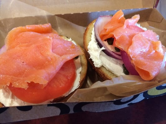 Einstein bros bagels troy mi yelp for Smoked fish near me