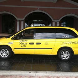 Yellow Meter Cab - Photo of taxi cab. - Orlando, FL, Vereinigte Staaten