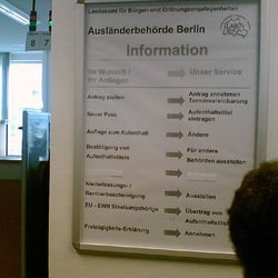 LABO Ausländerbehörde Berlin, Berlin, Germany