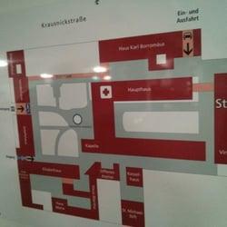 Plan der kompletten Krankenhausanlage