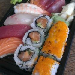 Het Sushi Me menu wordt zomaar aan je…