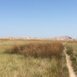 Badlands National Park - Lots of variance to the hiking - Interior, SD, Vereinigte Staaten
