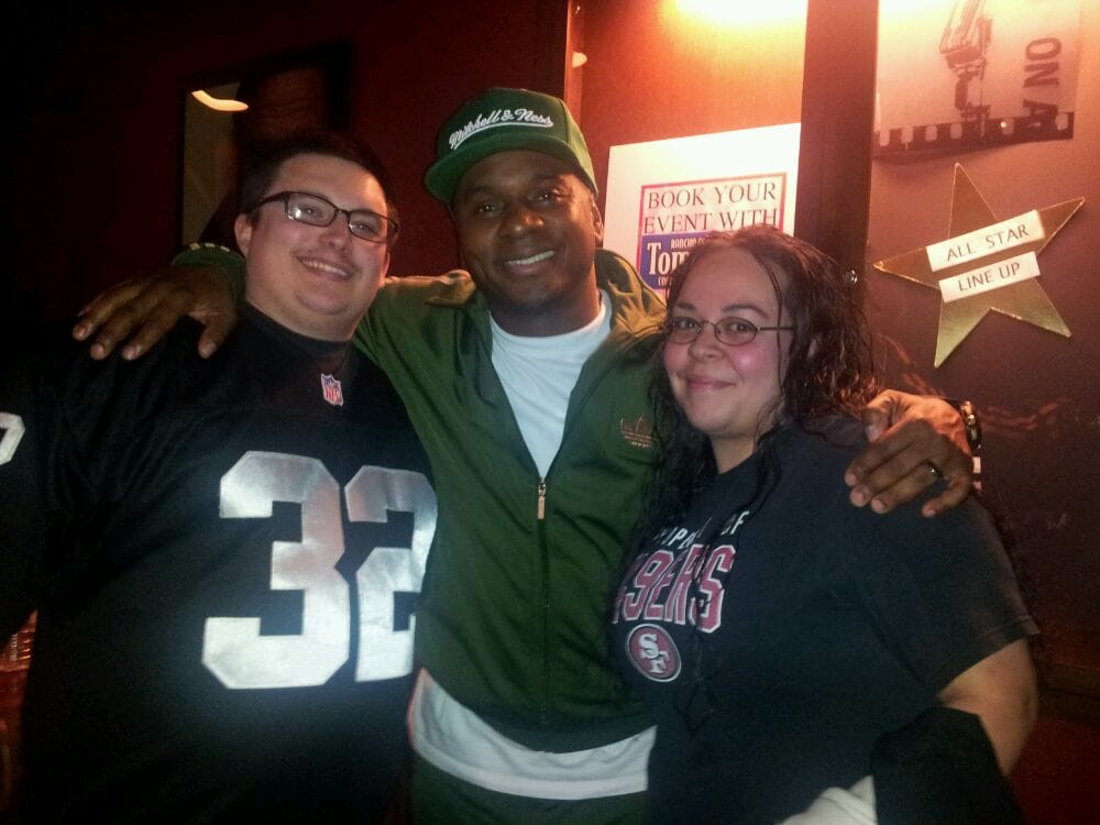 Tommy T's Comedy Club and Dinner Theatre - Rancho Cordova, CA, États-Unis. The bf, Tony Roberts & Me