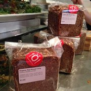 My favourite: rye bread (rugbrød)