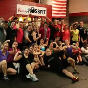 AK CrossFit - Atlanta, GA, États-Unis. The happy crew!