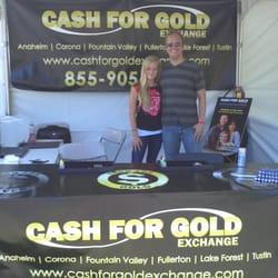 Cash for gold vendor setup the fish 95 9 radio station for The fish radio station