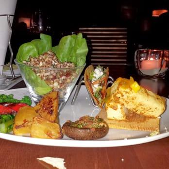 Seasons 52 winter vegetarian tasting oak brook il for Table 52 oak brook