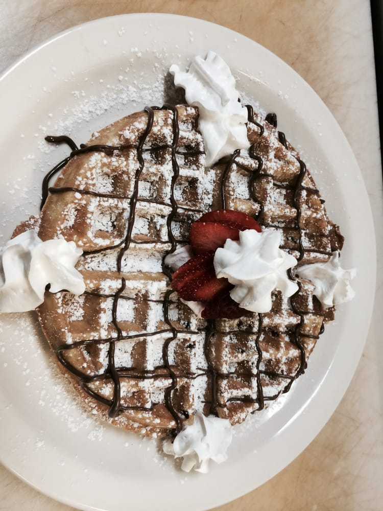 ... MI, United States. One of our homemade treats, the Nutty Pecan Waffle