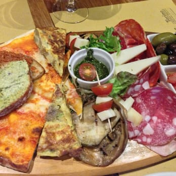 Fantastic! Love the antipasti platter. Many things I have not even tried before. Limited hot dishes but pasta was delicious.