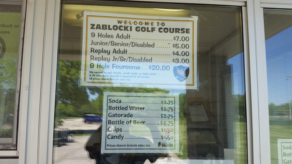Greenfield (CA) United States  city photos gallery : Zablocki Park Golf Greenfield, WI, United States Reviews ...