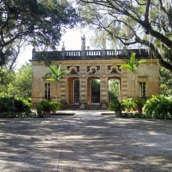 Vizcaya Museum And Gardens Vizcaya Miami Fl United States