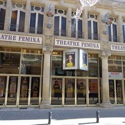 Théâtre Fémina - Bordeaux, France. Vue extérieure de la salle de spectacles