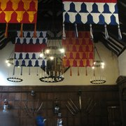 Tamworth Castle, Great Hall (including ghost, or is it camera shake? Or is it camera shake because of the ghost?)