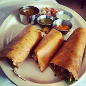The Chennai Club - Spring dosa with farmers vegetables. - San Mateo, CA, United States