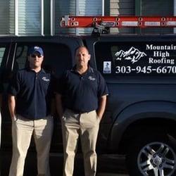 Mountain High Roofing Inc. logo